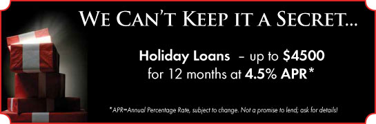 Holiday Loans.